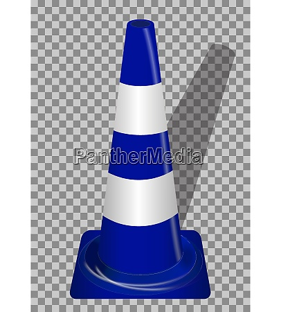 road signs blue badge guardrails on