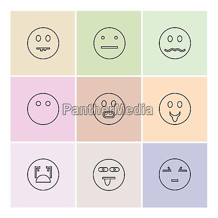 emoji emoticons eomtions smileys traurig gluecklich