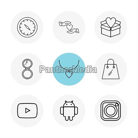 kompass herz hand gidtbox einkaufstasche instagram