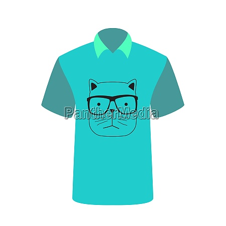 t shirt with the image of