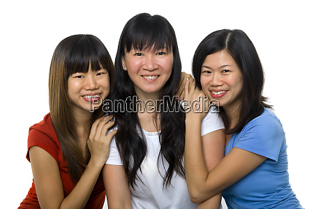 asiatische frauen portraet