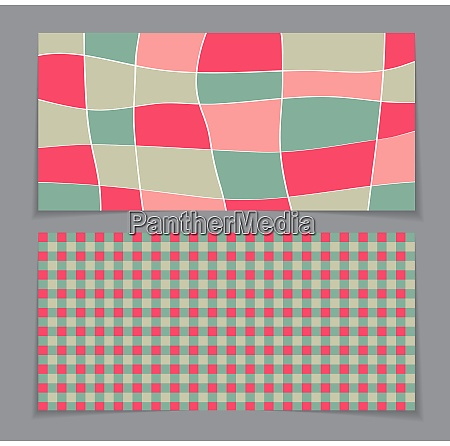 gift voucher template with abstract background