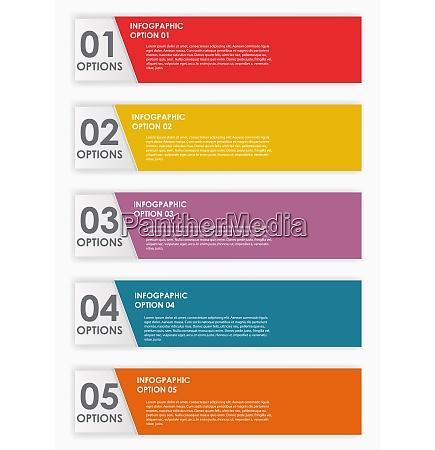 colorful infographics design elements vector illustration