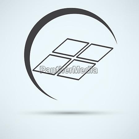 solarpanel symbol