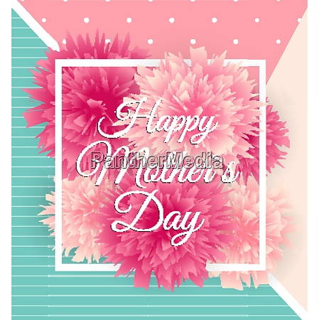 happy mother s day cute background