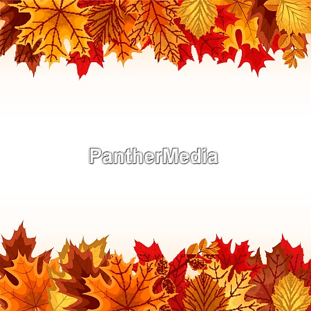 abstract vector illustration background with falling
