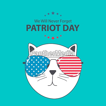 patriot day background september 11 poster