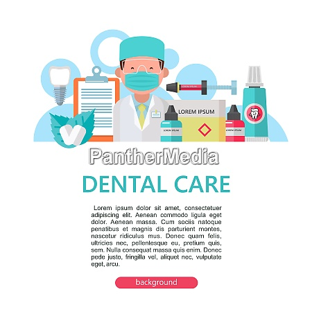 dental care vector illustration dental care