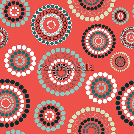colored abstract seamless background pattern vector
