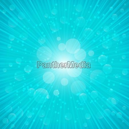 blue summer on background vector illustration