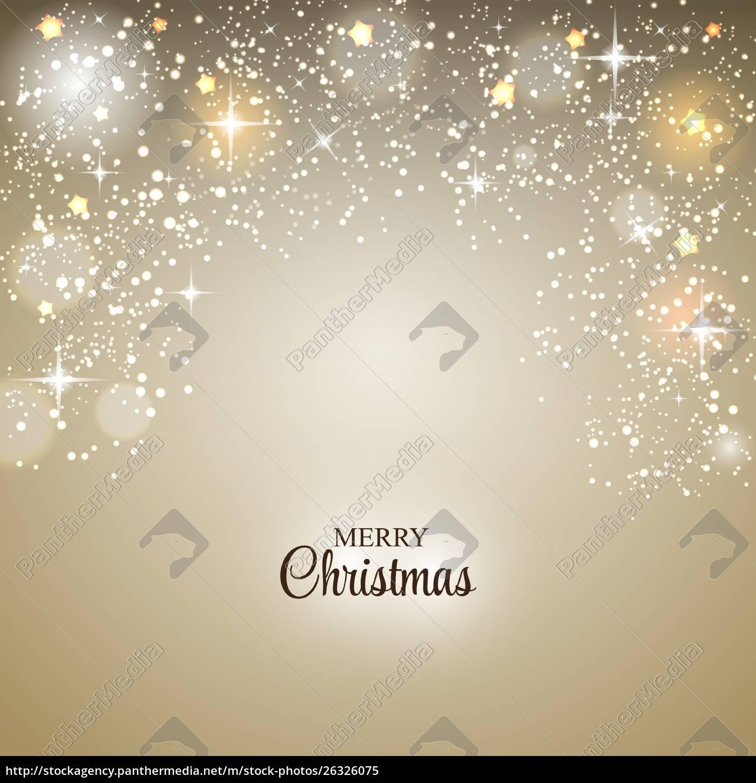 weihnachten, glänzend, stern, hintergrund, vektor, illustration - 26326075