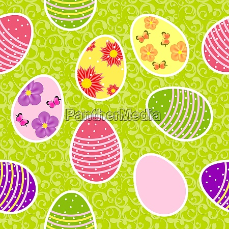 vector illustration seamless pattern background with