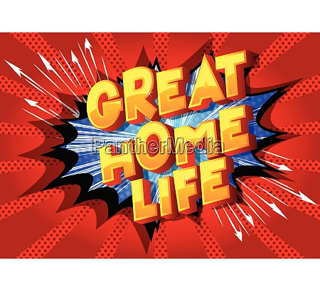 great home life comic book