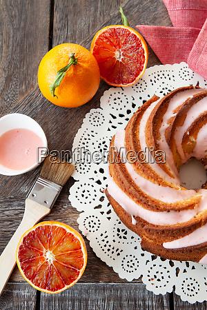 yummy bundt kuchen mit frosting