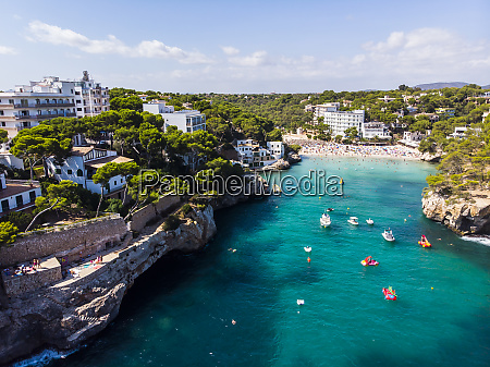 spain balearic islands mallorca aerial view
