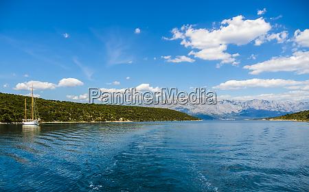 croatia damlatia brac island povlja bay