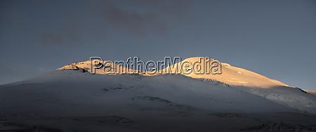 russia upper baksan valley caucasus mount