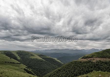russia upper baksan valley caucasus