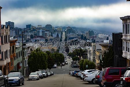 usa california san francisco cityview in