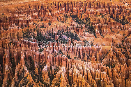 usa utah rock formations at bryce