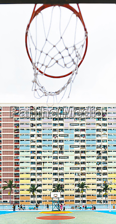 china hong kong kowloon basketball hoop