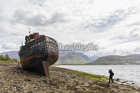 uk scotland highland photographer taking picture