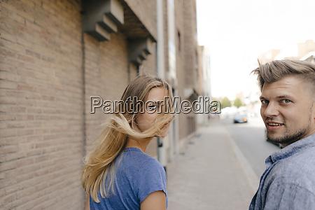 belgium tongeren happy young couple in