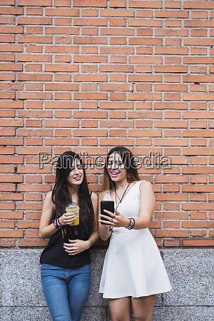 girl frinds standing in front of