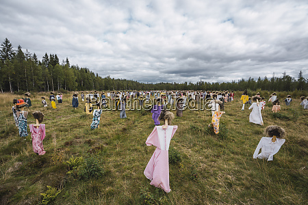 finnland suomussalmi the silent people kunstprojekt