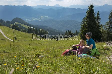 germany bavaria brauneck near lenggries happy
