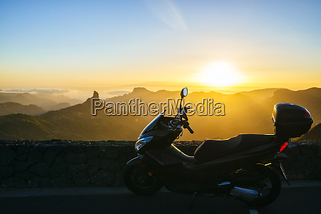 spain canary islands gran canaria parked