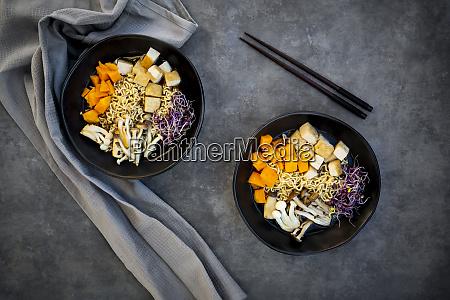 miso ramen soup with noodles hokaido