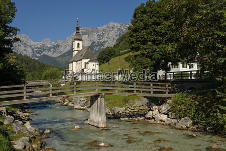 germany bavaria berchtesgadener land parish church