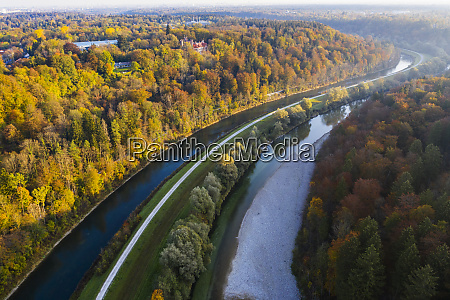germany bavaria upper bavaria isar canal
