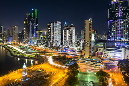 panama panama city skyline