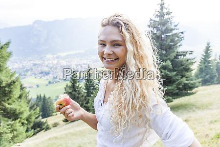 germany bavaria oberammergau portrait of smiling