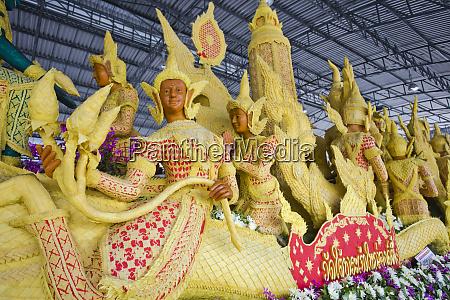 thailand provinz ubon ratchathani candle festival