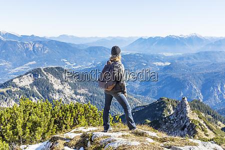 germany garmisch partenkirchen alpspitze osterfelderkopf female