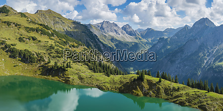 germany bavaria allgaeu alps panoramic view
