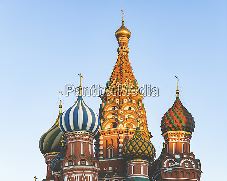 russia moscow close up on st