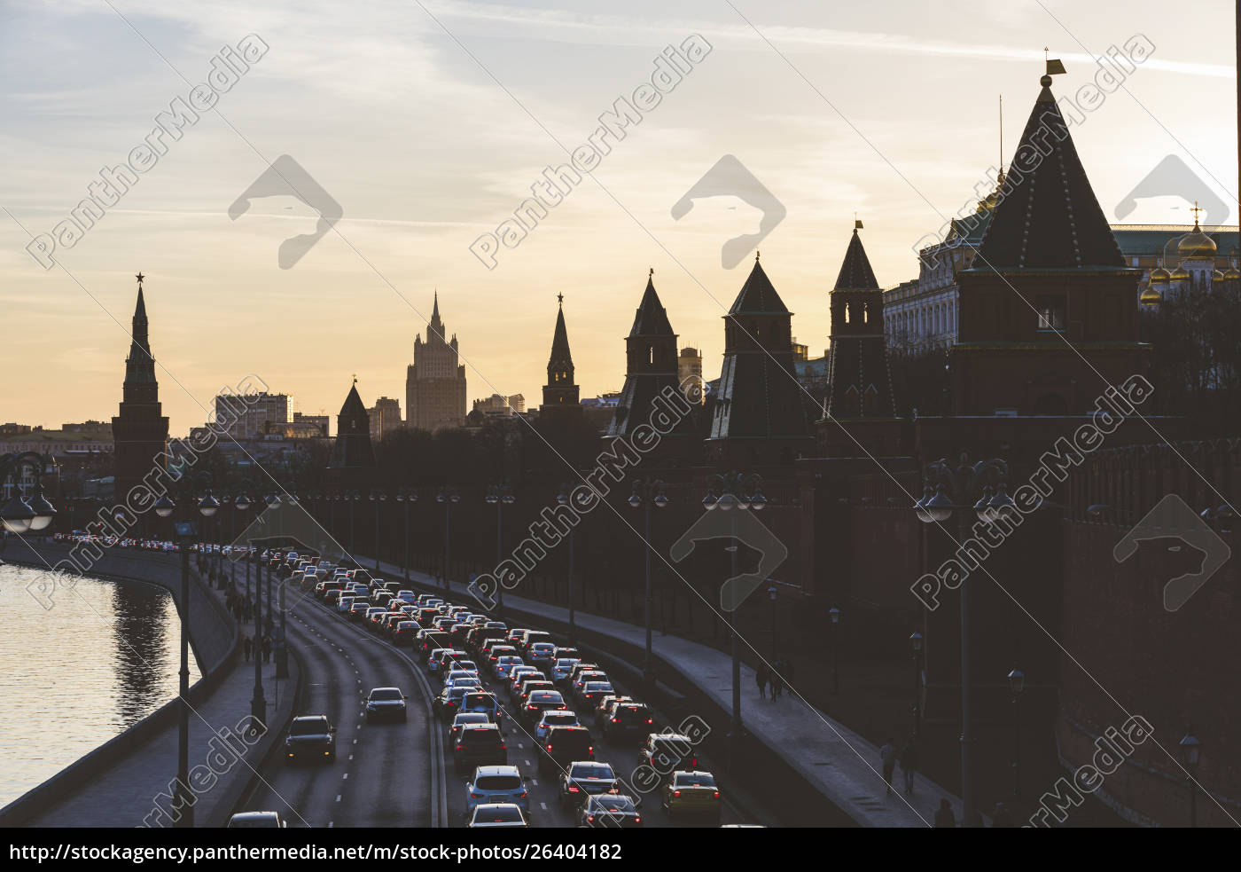 russia, , moscow, , the, kremlin, embankment, with - 26404182