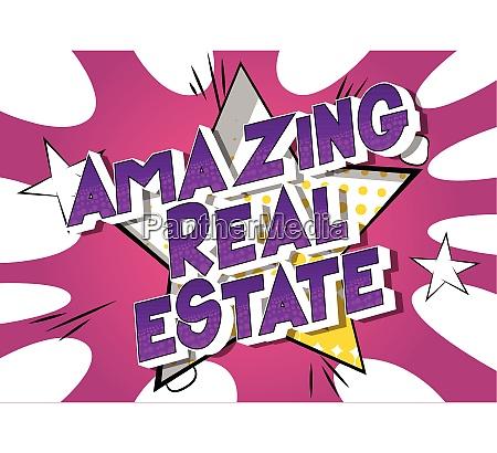 amazing real estate comic book