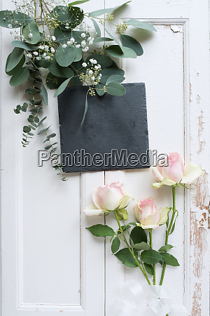 floral stillleben auf weissen vintage holz001