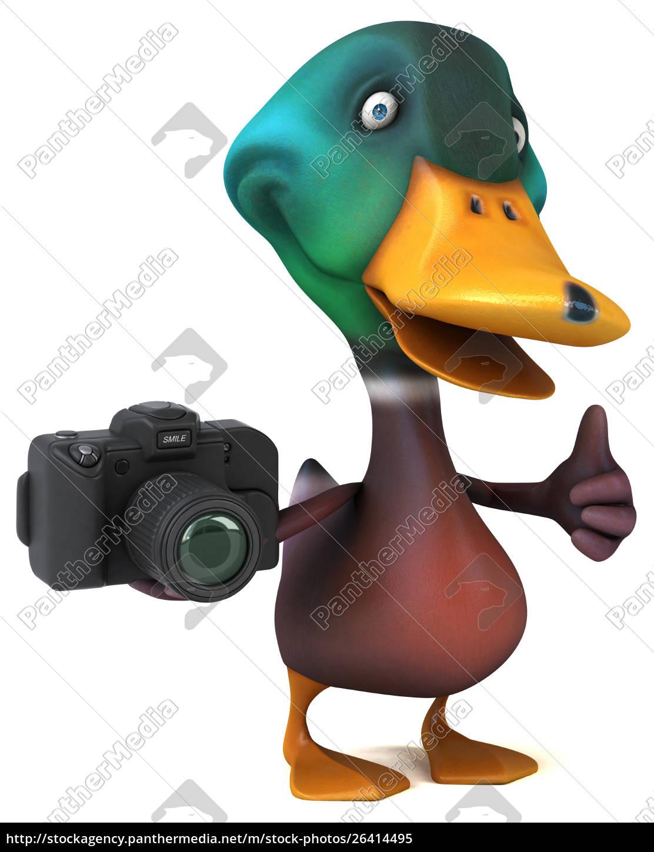 fun, duck-3d, illustration - 26414495