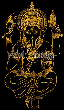 lord faith mythology ganesha hindu