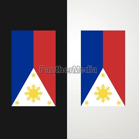 phillipines flagge banner design