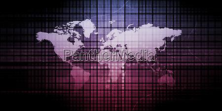 digitale datenabstrakt