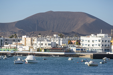 the waterfront of old town corralejo