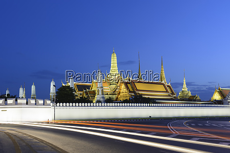 view of the grand palace at