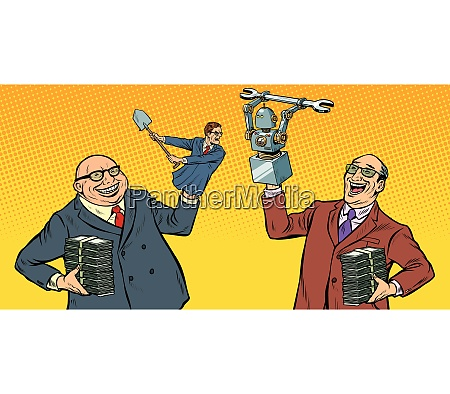 menschen gegen roboter kriegen um den